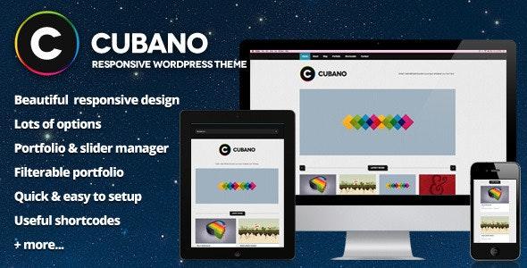 Cubano - Responsive WordPress Portfolio - Portfolio Creative