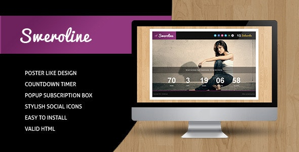 Sweroline - Creative Under Construction Template - Under Construction Specialty Pages