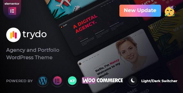 Trydo - Agency & Portfolio Theme - Portfolio Creative