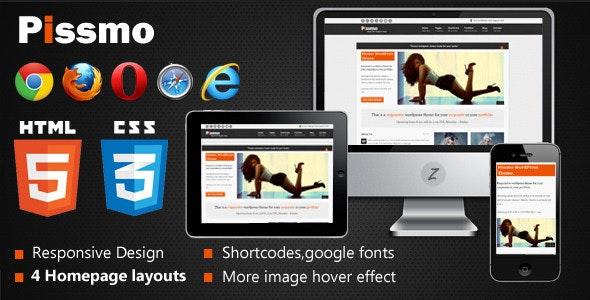 Pissmo Clean Responsive HTML5 Template - Creative Site Templates
