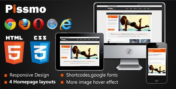 Image Hover Effects Website Templates from ThemeForest