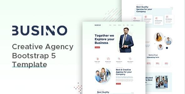 Busino Creative Agency Bootstrap 5 Template