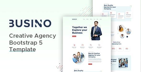 Busino - Creative Agency Bootstrap 5 Template