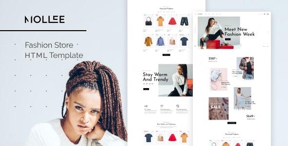 Mollee - Fashion Store HTML Template - Fashion Retail