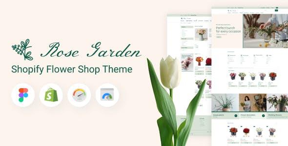 RoseGarden - Shopify Flower Shop Theme