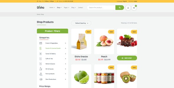 Disho – Grocery Store for XD