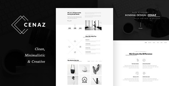 CEZAN - Minimal Multipurpose WordPress Theme - Creative WordPress
