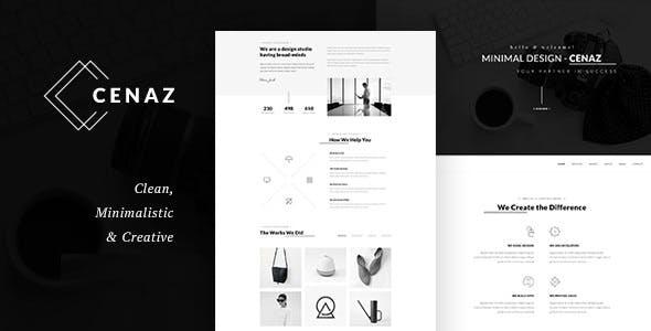 CEZAN - Minimal Multipurpose WordPress Theme