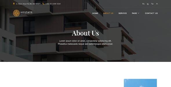 Hestate – Real Estate Elementor Template Kit