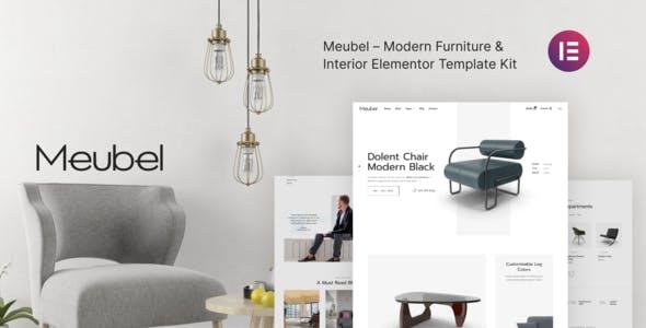 Meubel – Modern Furniture WooCommerce Elementor Template Kit