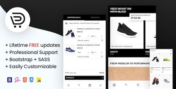 Dukkan - eCommerce Mobile Template