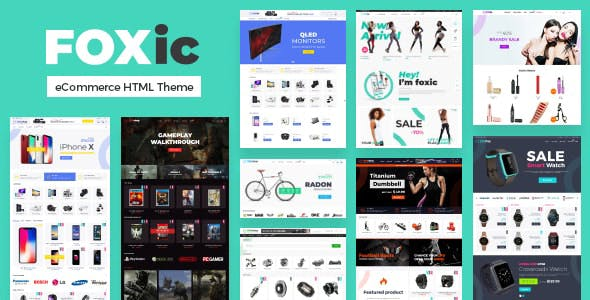 Foxic - eCommerce HTML Template