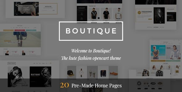 Boutique - Premium OpenCart Theme