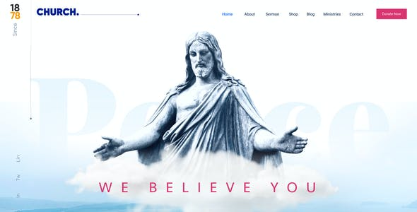 Pray |  A Complete Charitable Organisational Figma Template
