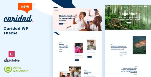 Caridad - Charity Nonprofit - Charity Nonprofit