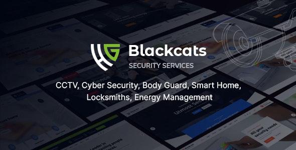 Blackcats - CCTV & Security HTML Template - Business Corporate