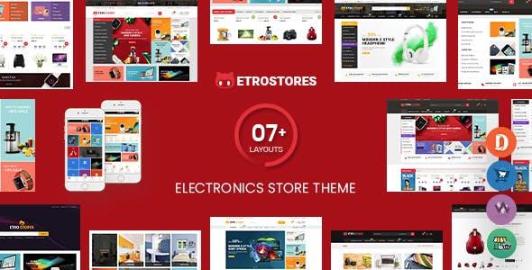 EtroStore - Electronics Store WooCommerce WordPress Theme (Mobile Layouts Ready)