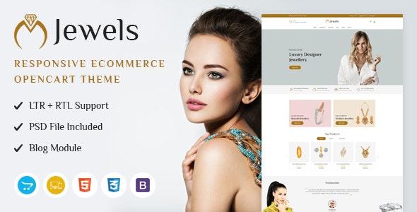 Jewels - Responsive OpenCart Theme - OpenCart eCommerce