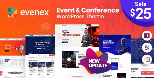 Evenex Event Conference WordPress Theme
