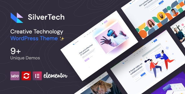 Silvertech - Creative WordPress Theme - Corporate WordPress