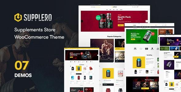 Supplero v1.2.0 – Supplement Store WooCommerce Theme