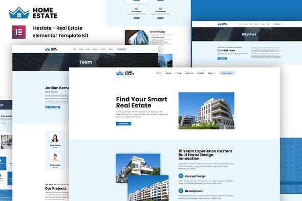 H-Estate - Real Estate Elementor Template Kit - Real Estate & Construction Elementor