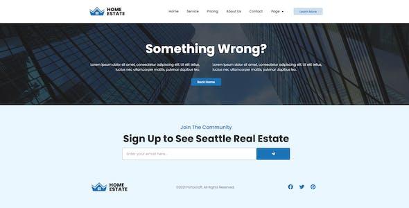 H-Estate - Real Estate Elementor Template Kit