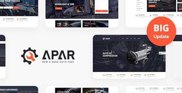 Apar - Auto Parts WordPress Shop Theme
