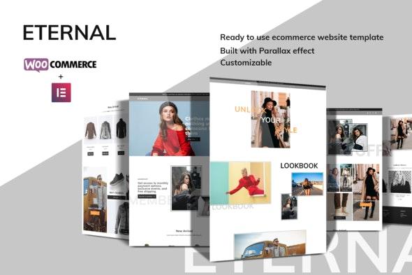 Eternal - Ecommerce Elementor Template Kit - Shopping & eCommerce Elementor