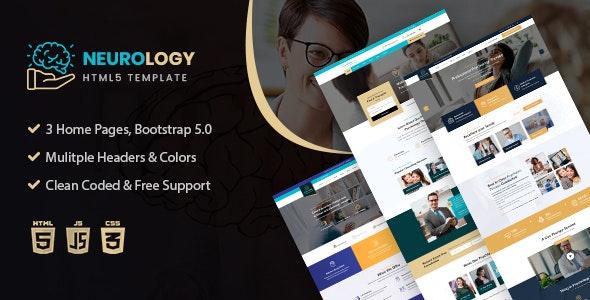 Neurology- Psychology & Counseling HTML Template - Health & Beauty Retail