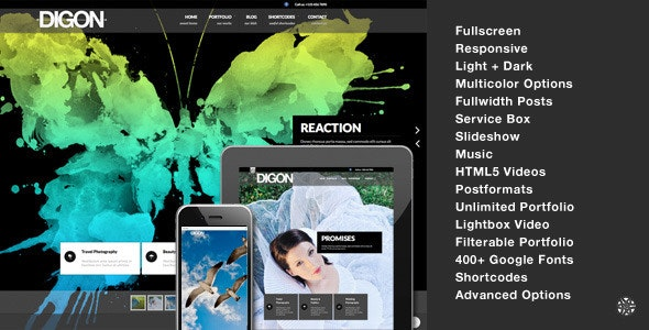 Digon | Photography Theme for WordPress - Portfolio Creative