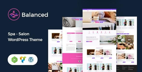 Balanced Spa - Salon, Spa WordPress Theme - Health & Beauty Retail