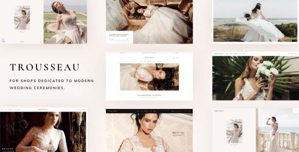 Trousseau - Bridal Shop WordPress Theme - WooCommerce eCommerce