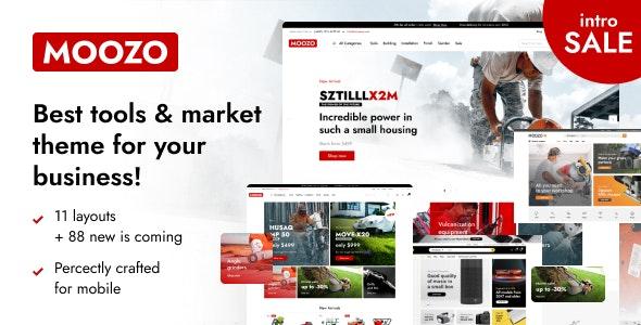 Moozo - Tools WooCommerce Theme - WooCommerce eCommerce