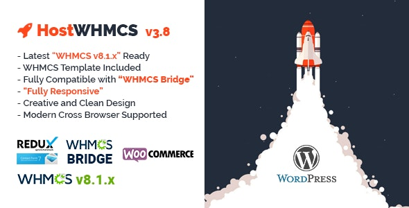 HostWHMCS | Responsive Hosting and WHMCS WordPress Theme - Hosting Technology