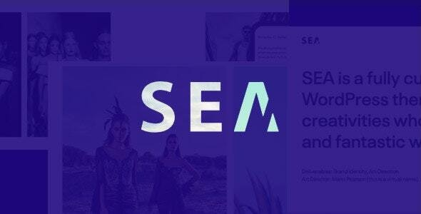 Portfolio HTML5 template | SEA - Portfolio Creative