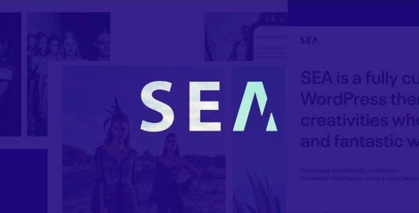 Portfolio HTML5 template | SEA