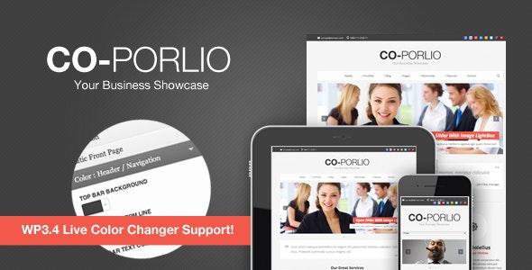 Co-Porlio: Feature Rich WordPress Theme - Business Corporate