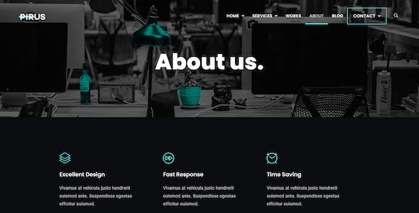 PIRUS – Dark Digital Agency Elementor Template Kit