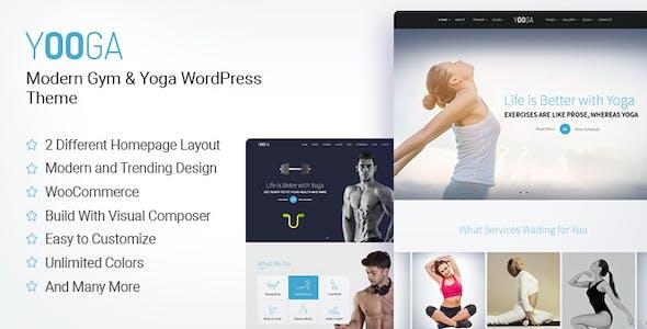 Yooga- Yoga, Fitness & Gym WordPress Theme
