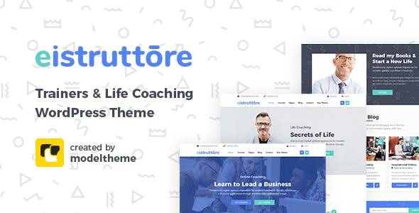 Eistruttore - Speaker and Life Coach WordPress Theme