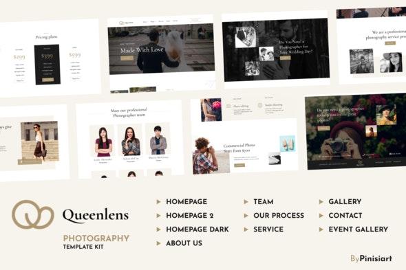 Queenlens   Photography & Event Elementor Template Kit - Photography Elementor