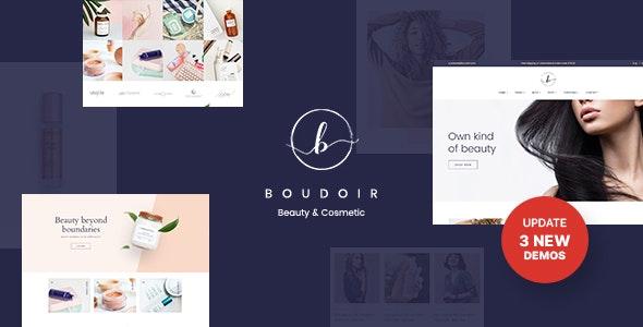 Boudoir - Minimal Cosmetic WooCommerce Theme - WooCommerce eCommerce