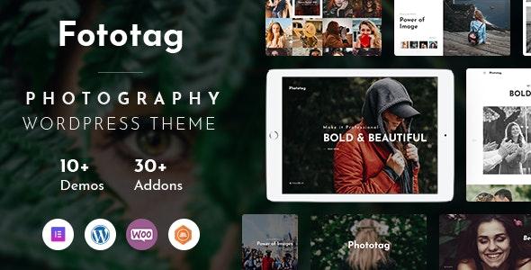 Fototag – Photography WordPress Theme - Photography Creative