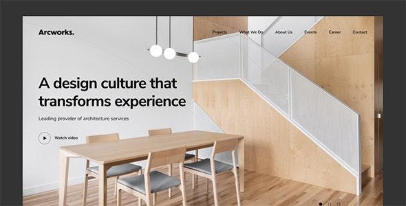 Arcworks — Architecture & Interior design - Portfolio Creative