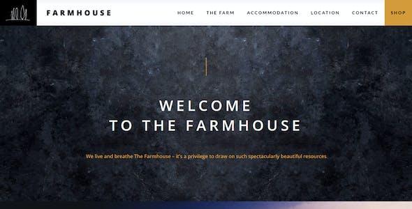 Farmhouse - Agrotourism, Farming and Agriculture theme