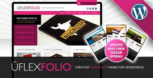 uFlexfolio - Portfolio Theme for Wordpress - Portfolio Creative