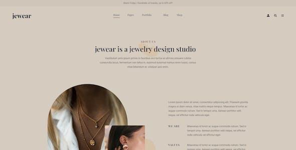 JewellryWear - Jewellery Store Elementor Template kit