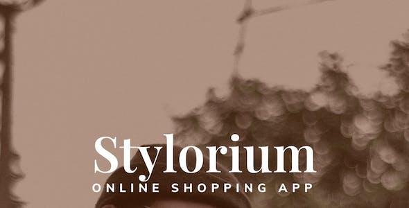 Stylorium - Fashion Retail Shop Mobile App UI