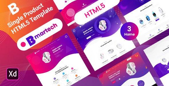 Bemartech - Single Product  landing HTML5 Template - Shopping Retail